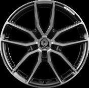 Königsräder KR1 8x18 Black polished 5x120 ET45