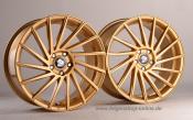 Ultra Wheels UA9 8,5x19 Gold Rechts 5x112 ET45
